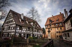 Nuremberg Mögeldorf artisan homes, Bavaria Germany