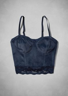 Leigh Corset Top- bought this in this navy color and also the burgundy, looooove it! <3