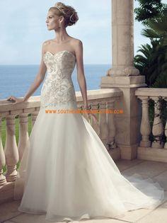 Plage / Destination Sirène Traîne moyenne Robes de mariée 2014