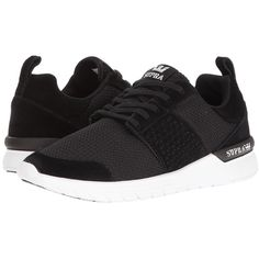 Supra Scissor (Black Suede White) Women s Skate Shoes ( 56) ❤ liked on  Polyvore featuring shoes c808da4660