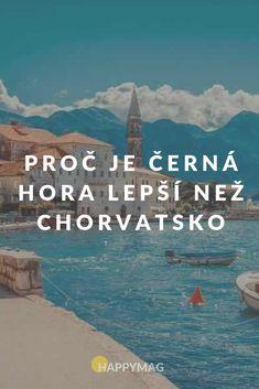 Černá hora je jedna ze zemí Balkánu, která je nádherná, ale často zapomínaná. Je hned vedle Chorvatska, kterému lidé dávají přednost. Zkuste Černou horu! #chorvatsko #cernahora #zeme #cestovani #dnescestujem