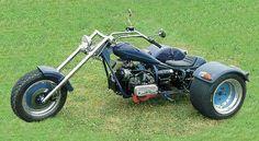 Motorcycle Thread - Page 44 - Cut-Weld-Drive Forums Custom Trikes For Sale, Custom Choppers, Custom Bikes, Vw Trike, Trike Motorcycle, Antique Motorcycles, Cool Motorcycles, Three Wheel Motorcycles, Steampunk Motorcycle