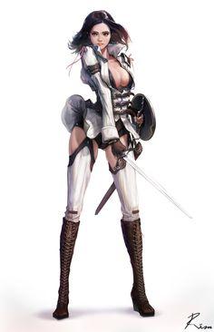 ArtStation - Mercenary, Kirim Son