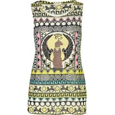 River Island White Egyptian Print Embellished Tank and other apparel, accessories and trends. Browse and shop 5 related looks.