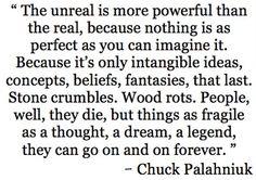 Chuck Palahniuk, Choke