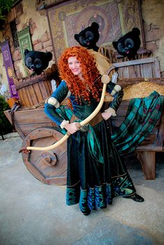 Merida and the Bears by abelle2, via Flickr