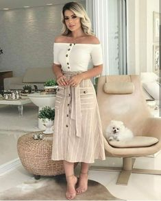 30 Outfits, Curvy Girl Outfits, Classy Outfits, Pretty Outfits, Casual Outfits, Dress Neck Designs, Boho Skirts, Muslim Fashion, Cute Fashion