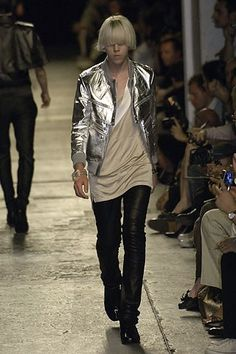 Dior Homme Spring 2007 Menswear Fashion Show