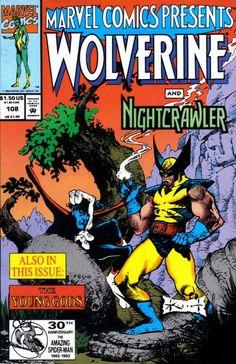 Marvel Comics Presents # 108 by Sam Kieth