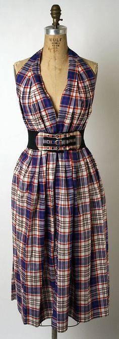 Claire McCardell, 1956, cotton