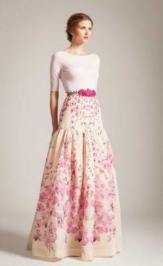 Long Orchidea Full Skirt | Floral Print Skirts | Temperley London