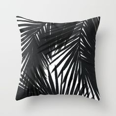 Buy Palms Black Throw Pillow by Caitlin Workman. Worldwide shipping available at Society6.com. Just one of millions of high quality products available.