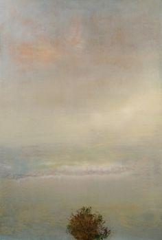 "Saatchi Online Artist: Maurice Sapiro; Oil, 2013, Painting ""Dusk"""
