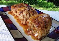Rec./Rev./Pics....Stuffed Amaretto Glazed Chicken | Taste of Home Community