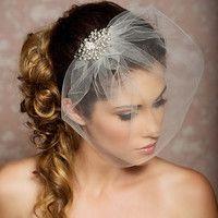 wedding veils Rhinestone Veil, Crystal Ve - wedding Veil Diy, Diy Wedding Veil, Rhinestone Wedding, Crystal Rhinestone, Crystal Brooch, Hair Wedding, Wedding Gifts, Bridal Headpieces, Bridal Hair