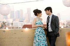 500 Days of Summer starring Zooey Deschanel and Joseph Gordon-Levitt