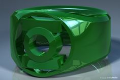 3D Rendering of a ring based on the Green Lantern power rings from DC Comics. 3D Software: Modeled and rendered with Newtek Lightwave The Red Ring The Orange Ring The Yellow Ring The Green Ring The...