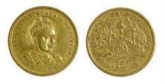 Lot 429: Travancore, Sri Rama Varma Maharajah gold sovereign (1881). Very rare! Estimate £3000-£4000 Sale date 21st August 2013 www.afbrock.co.uk