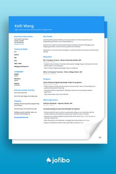 As a student it's important to put emphasis on the projects you've completed and core competencies that you already possess as you have limited work experience #cv #cvtemplate #cvtemplates Computer Forensics, Computer Science, Fisher College, Cv Template, Templates, Spanish Projects, Core Competencies, Boston University, Design Projects