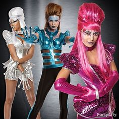 TOTALLY DOING THIS! Go extraterrestrial this Halloween in sci-fi glam looks that are hotter than a supernova. Flash Forward collection + more Top 10 Halloween Costume Trends 2012! #PartyCity #Halloween