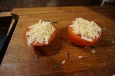 5 Min Low Carb Beilage Tomate aus dem Ofen