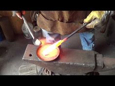 Blacksmithing - Forge Welding With Sand As Flux