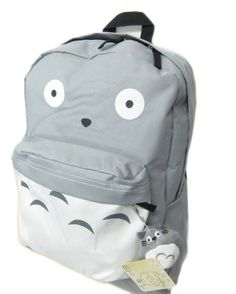 "Amazon.com: Totoro Full Size School Backpack (Bonus Plush)- 16"": Everything Else"