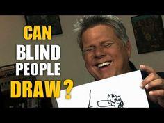 A blind man's self portrait