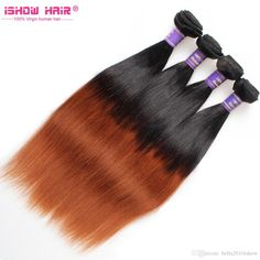 Wholesale Straight Braizlian Hair 10-24inch Cheap Ombre Weave Two Tone Virgin Hair Extensions UK Wholesale Straight Brazilian Hair Ombre Straight Weave Two Toned Cheap Weave Hair Extensions Uk Online with $301.78/Piece on Bella2016ishow's Store | DHgate.com
