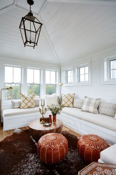 Designer Sarah Richardson created this dreamy retreat for her family