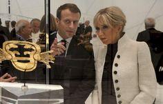 Abu Dhabi, Melania Trump, Beaux Couples, Brigitte Macron, French President, Emmanuel Macron, Animal Crossing, Being Ugly, Presidents