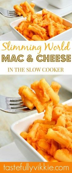1.5 Syn Slimming World Slow Cooker Macaroni Cheese - Tastefully Vikkie