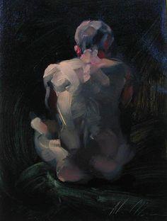 red-lipstick:Alan McGowan (b. 1964, East Kilbride, Scotland) - Saturation, 2012 Paintings: Oil on Canvas