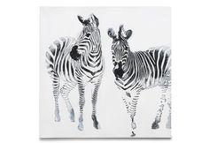 Stripes Canvas 100cm x 100cm | Super Amart