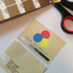 Mocking up some biz cards for our first Japanese trade show.