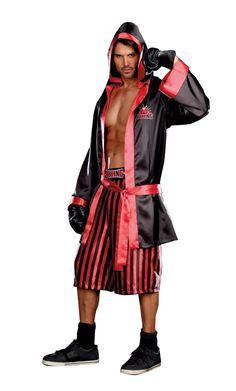 Champs Like Us Satin Men Costume Size Medium 38-40