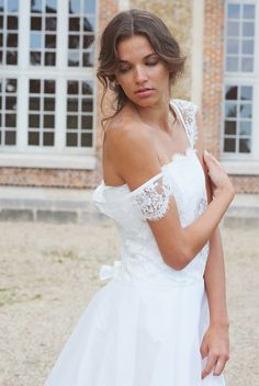 Adeline Bauwin | Robe de mariée: Dahlia | Crédits: Studio Ohlala | Donne-moi ta main - Blog mariage