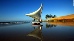 Fortaleza - On the northeast coast of Brazil, the capital of Ceará state is well known for lobster and fresh seafood.