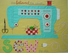 applique sewing machine