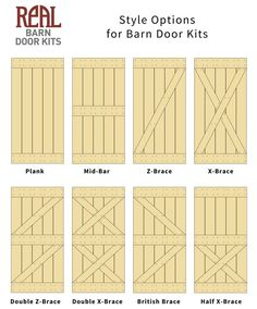 DIY barn door can be your best option when considering cheap materials for setting up a sliding barn door. DIY barn door requires a DIY barn door hardware and a Shed Doors, Garage Doors, Closet Doors, Entry Doors, Front Doors, Interior Barn Doors, Interior Paint, Sliding Doors, Diy Sliding Barn Door