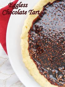 Cooking Is Easy: Eggless Chocolate Tart....step by step.