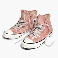 Madewell Womens Converse Chuck Taylor All Star High-Top Sneakers In Faux Fur
