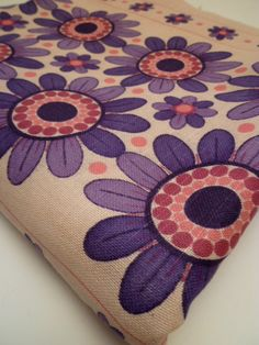 PRETTY IN PINK vintage fabric by FABBITS on Etsy