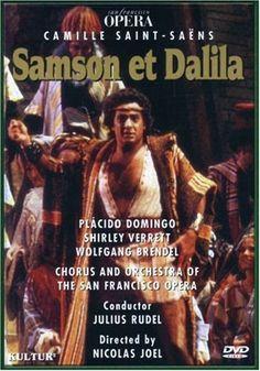 Saint-Saens - Samson et Dalila / Rudel, Domingo, Verrett, San Francisco Opera Movie Poster