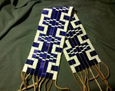 Native Beadwork, Native American Beadwork, Native American Indians, Native Americans, Oneida Nation, Mohawk Styles, Trail Of Tears, Indian Artifacts, Nativity Crafts