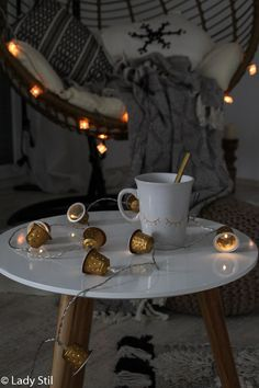 Nespresso, Repurposed, Dining Table, Table Decorations, Lady, Christmas, Zero Waste, Home Decor, Advent
