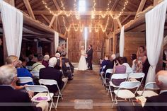 """Okay, so this venue might fall under the category of """"backyard barn"""" weddings, but this wedding from the Sugar Hill Farm in Antrim, NH was absolutely stunning."""