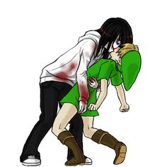 Jeff the killer x Ben drowned