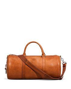 Leather weekend bag Leather duffle bag overnight by MAHILeather ... 9f7b2d85da45b