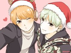 BTS - Merry Christmas with YoonMin - Credits to owner/artist